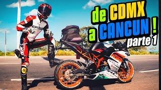 RODANDO DE CDMX A CANCUN .Parte 1
