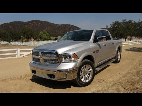 2014 Ram 1500 Ecodiesel Pickup 0 60 Mph First Drive Review Youtube