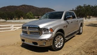 2014 Ram 1500 EcoDiesel Pickup 0-60 MPH First Drive Review