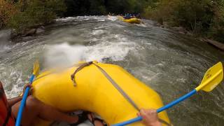Extreme Tennessee white water rafting Ocoee River 2014 HD