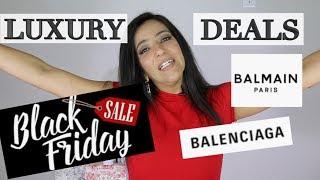 Inmundo No se mueve Inocencia  Top Luxury Black Friday Deals! Balmain, Balenciaga, Zimmermann - YouTube
