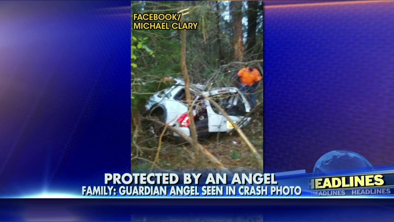 Family Claims Guardian Angel Was Captured on Film