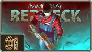 ВЕРИТ ПАЛ. СОБАКЕ СОБАЧЬЯ СМЕРТЬ!   Прохождение Immortal Redneck - Серия №1
