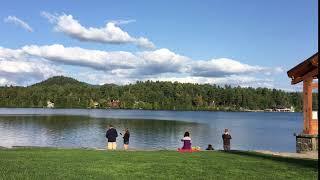 Mirror Lake View, Lake Placid, New York, United States