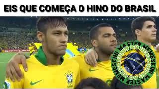 Baixar Eis que o Brasil vai cantar o hino - melhores memes dos hinos, memes da seleção brasileira, memes da