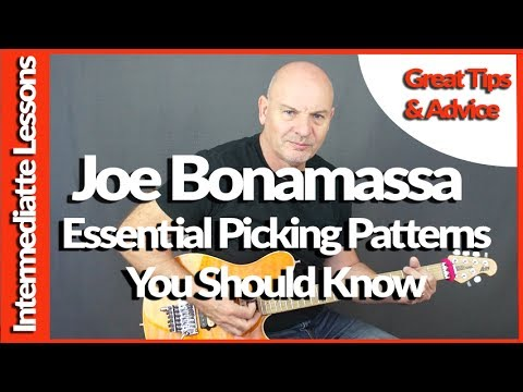 Joe Bonamassa Essential Picking Patterns You Should Know