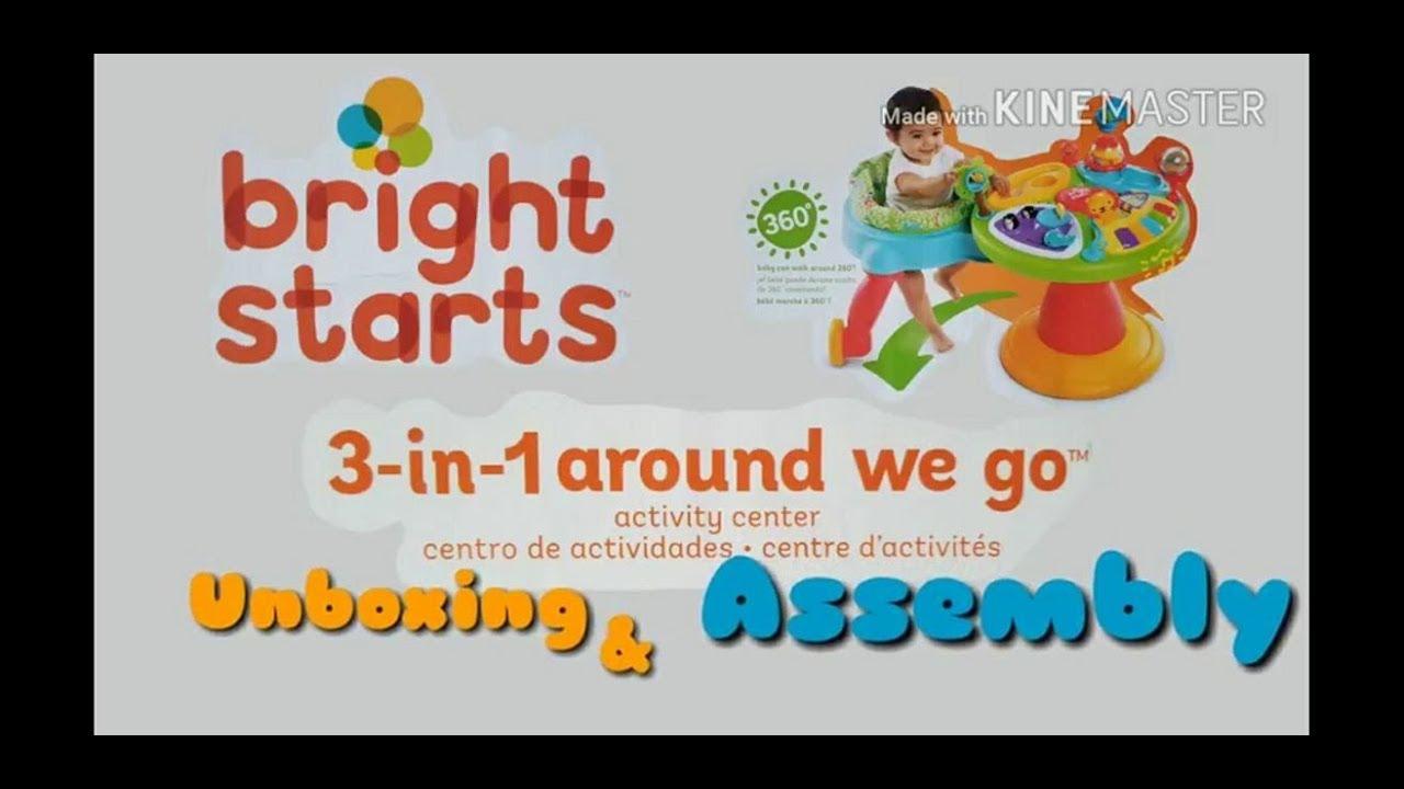 3-in-1 Around We Go Activity Center KidsII 60368