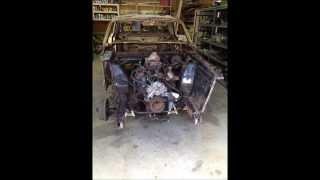 1965 mustang restoration part 1