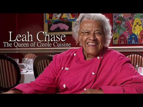 Leah Chase Talks With St. Aug Students