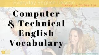 Important Computer & Technical English Vocabulary