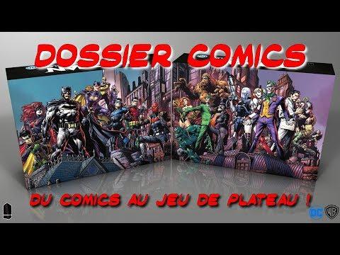 Batman : des comics au jeu de plateau Gotham City Chronicles par Monolith ! – Dossier Comics