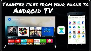 How to connect Xender to Android TV ?