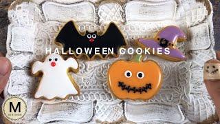 アイシングパウダーもクッキー型も100均で揃えてハロウィン【Hallowe...