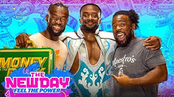 The New Day celebrates Big Es big win The New Day Feel the Power Aug 2 2021