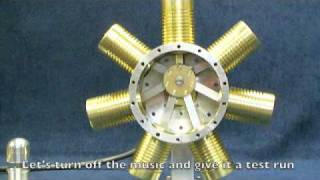 7 cylinder radial steam engine the build