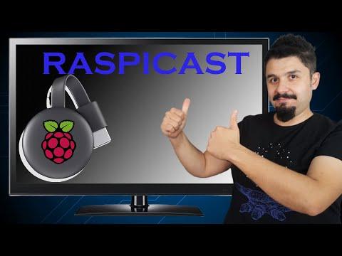 Akılsız TV Kalmayacak... Part-1: Raspicast Yapıyoruz. Chromecast Alternatifi Kullanışlı Bir çözüm...