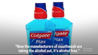 A dentist reveals why you should avoid mouthwash with alcohol
