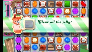 Candy Crush Saga Level 1423 walkthrough (no boosters)