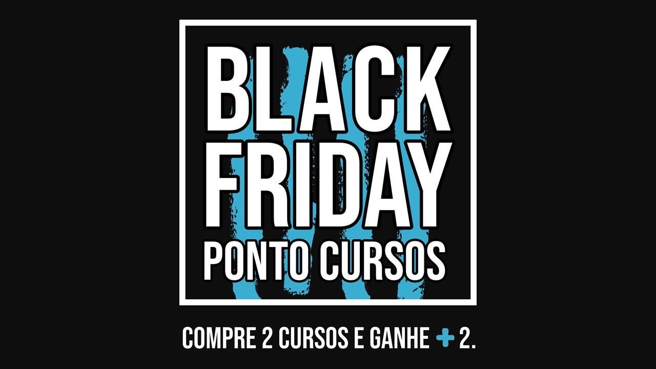 fee4893a0c Black Friday PontoCursos - Compre 2 Cursos e Ganhe + 2 - YouTube