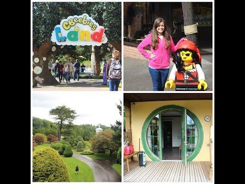 Alton Towers,Cbeebies Land,Splash Park & Our Woodland Lodge Day 2 (Vlog)