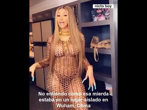 Cardi B diciendo coronavairus - video original (sub español)