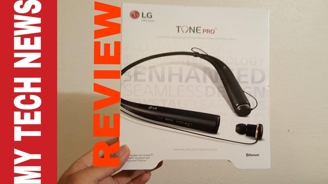 lg tone pro hbs 780 wireless bluetooth headset review - youtube