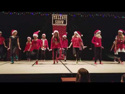 Activity day girls Christmas talent show