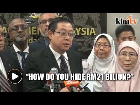 Guan Eng: RCI report on forex scandal shocking