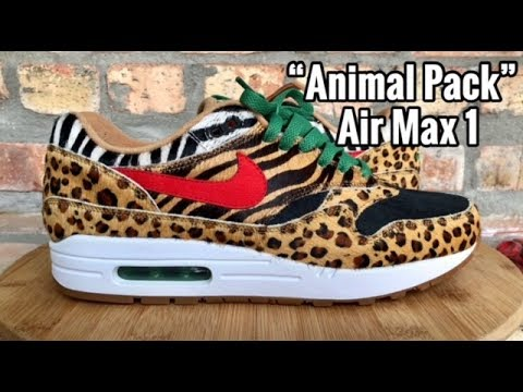 Nike x atmos Air Max 1 Animal Pack 3.0 on feet | Dead Stock