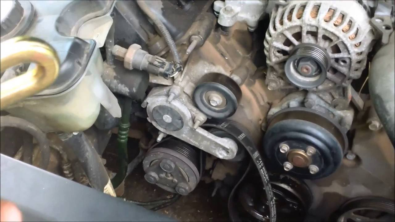 How To Replace A Harmonic Balancer On A Ford Crown Vic