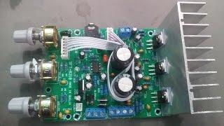 [Bán MĐ] Hướng dẫn và thử nghiệm mạch khuếch đại âm thanh TDA2030A 2.1
