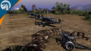 INSANE: 20mm GUNS WRECK AIRFIELD & ESCAPE | Red Tide | Men of War: Assault Squad 2 Gameplay