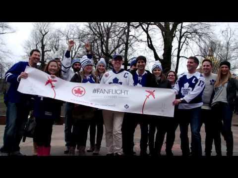 Air Canada Fan Flight