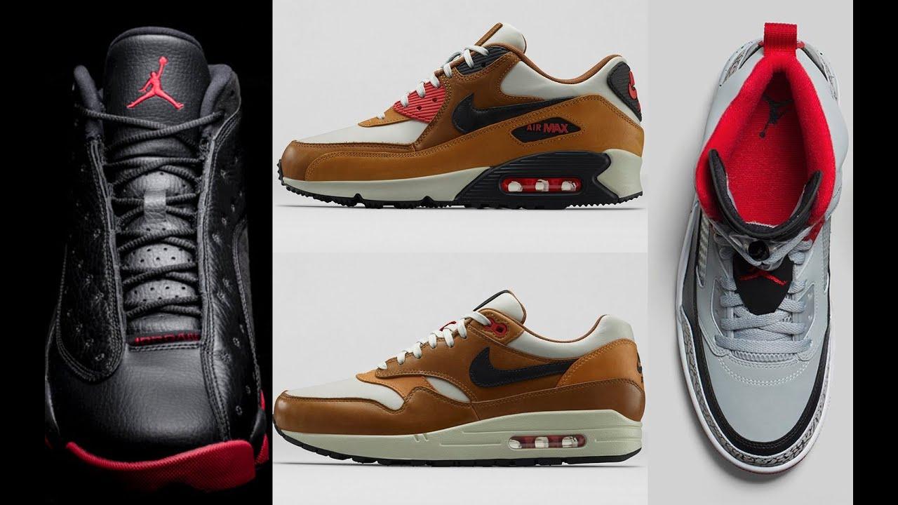 big sale ff76c 9be4b Jordan 13 Black Gym Red, Air Max 90 Escape, Jordan Spizike Wolf Grey and  more on Heat Check