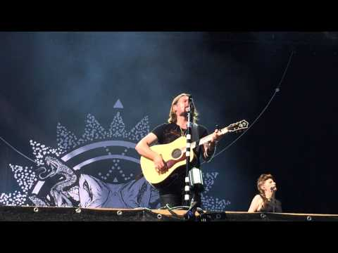 "Rea Garvey - ""Supergirl"" Rock am Ring 2014 live"
