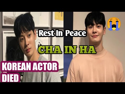 Cha In-ha Becomes Third Young Korean Entertainer to Die in Two ...