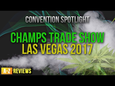 Cannabis Weed Pipes, Bongs, Vape, Glass Blowers all here at Champs Trade Show Las Vegas 2017
