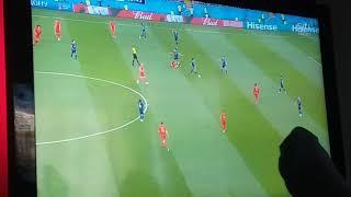 Vm | Japan vs Belgien chill