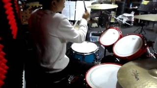 one ok rock yes i am drum cover by hanjin