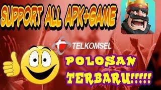 METODE BARU - TELKOMSEL POLOSAN Support All APK+GAME Online