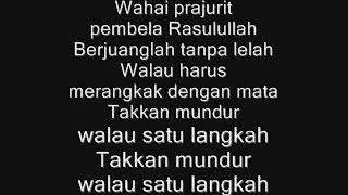 Lirik Mars Pejuang Agama Habib Bahar Youtube