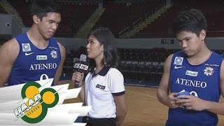 ADMU vs. FEU | Post-Game Interview | UAAP 80 | Nov. 22, 2017