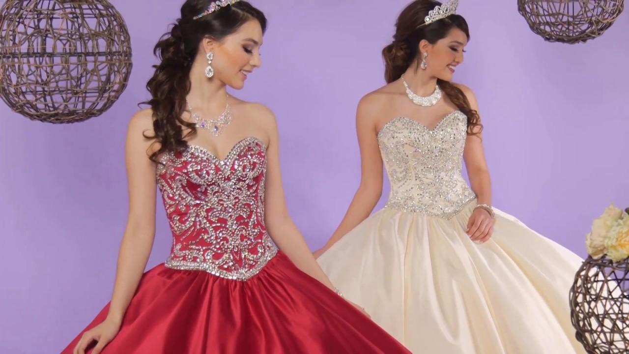 662e4403f8 Q by DaVinci Quinceanera Dresses  Style 80379 - YouTube