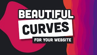 Build a Curvaceous Homepage // Wavy Background Tutorial with SVG & CSS