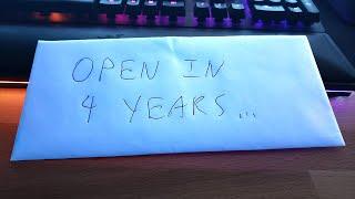 Dear Me in 4 Years...