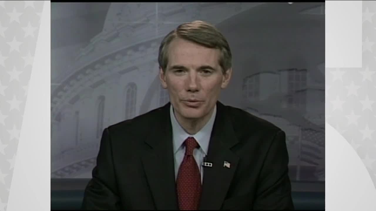Senator Rob Portman of Ohio Will Not Seek Re-Election in 2022