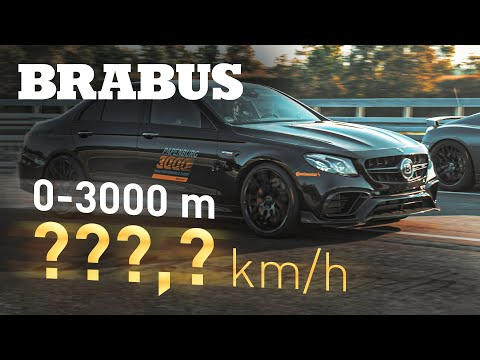 Brabus 800 AMG E63 S charges to 300km/h in under 25 seconds