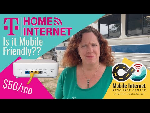T-Mobile Home Internet - $50/month 4G Unlimited Data - Is It Mobile Friendly For RVers & Cruisers?