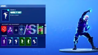 NEW! GALAXY SKIN! with ALL NEW DANCE EMOTES! (Leaked) Fortnite Battle Royale