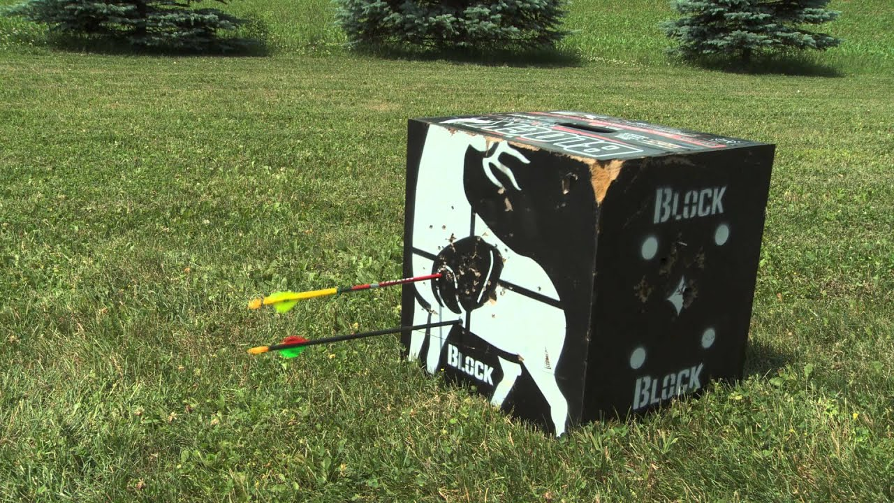Block Archery Targets Best Target For Easy Arrow Removal